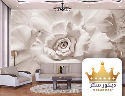 ورق حائط ثلاثية الابعاد في جدة
