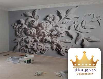 ورق جدران ثلاثي الابعاد بديل الجبس والرخام